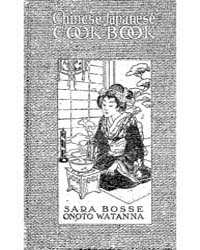 Chinese Japanese Cook Book, Document Chi... by Sara Bosse
