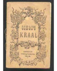 Congo's Kraal; Or, the Lost One Found, D... by Michigan State University