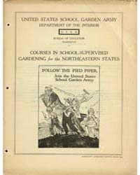 Courses in School-supervised Gardening f... by Philander P. Claxton