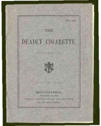 The Deadly Cigarette, Document Deadly by Michigan State University