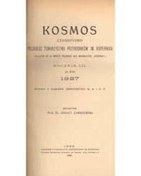 Kosmos, Document Drez0417 by Dr. Ignacy Zakrzewski