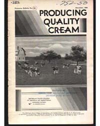 Producing Quality Cream, Document E109 by Baldwin, R. J.