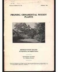Pruning Ornamental Woody, Document E112 by Baldwin, R. J.