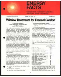 Window Treatments for Thermal Comfort, D... by Margaret Boschetti