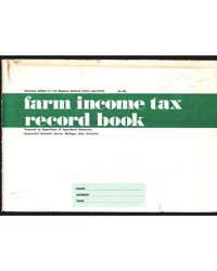 Farm Income Tax Record Book, Document E1... by Michigan State University