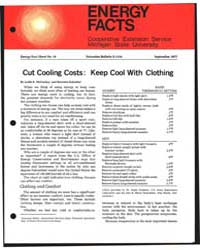 Cut Cooling Costs : Keep Cool with Cloth... by Leslie K. McConkey