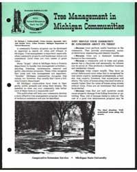 Tree Management in Michigan Communities,... by Michael J. Walterscheidt