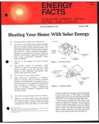Heating Your Home with Solar Energy, Doc... by Michigan State University