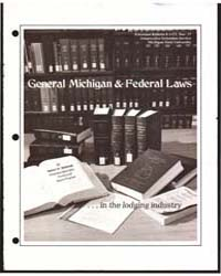 General Michigan & Federal Laws, Documen... by Rotert W. McIntosh