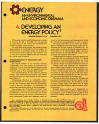 4. Developing an Energy Policy1 by Michigan State University