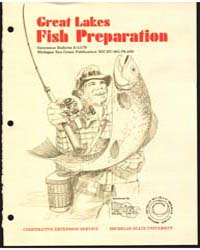 Great Lakes Fish Preparation, Document E... by Reynolds, A. Estes