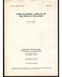 Some Economic Aspects Of, Document E119 by R. V . Cunn