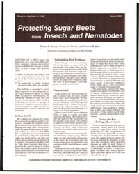 Protecting Sugar Beets from Insects and ... by Ruppel, Robert F.