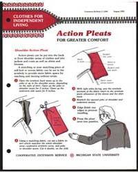 Action Pleats for Greater Comfort, Print... by Michigan State University