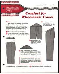 Comfort for Wheelchair Travel, Document ... by Michigan State University