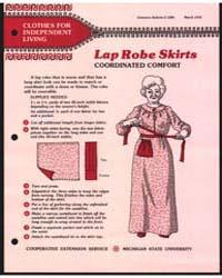 Lap Robe Skirts Coordinated Comfort, Doc... by Michigan State University