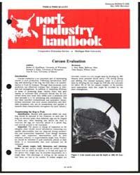 Pork Industry Handbook, Document E1222Re... by Robert G. Kauffman