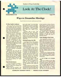 Look at the Clock, Document E1226 by Maxine Ferris