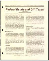 Federal Estate and Gift Taxes, Document ... by Ralph E. Hepp