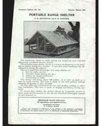 Portable Range Shelter, Document E124 by C. H. Jefferson