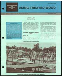 Using Treated Wood, Document E1250 by Eldon A. Berr