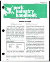 Nutrition, Pork Industry Handbook, Docum... by Duane E. Ullrey