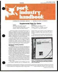 Housing, Pork Industry Handbook, Documen... by Charles N. Hinkle