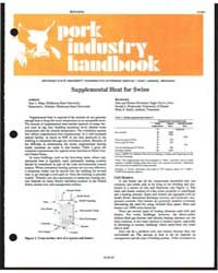 Housing Pork Industry Handbook, Document... by Sam Harp