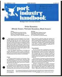 Herd Health, Pork Industry Handbook, Doc... by D. L. Hank Harris