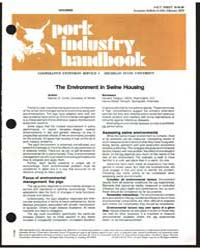 Housing Pork Industry Handbook, Document... by Stanley E. Curits