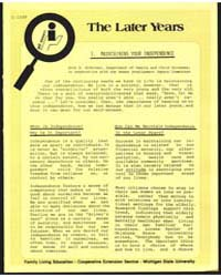 The Later Years, Document E1289 by Soderman, Anne K.