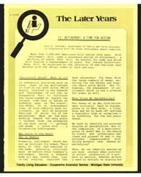 The Later Years, Document E1290 by Michigan State University