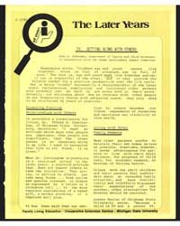 The Later Years, Document E1292 by Michigan State University