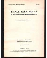 Small Sash House, Document E130Rev2 by O. E . Robey
