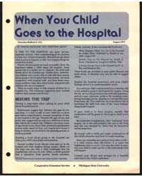 When Your Child Goes to the Hospital, Do... by Donna Manczak