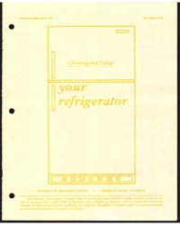 Your Refrigerator, Document E1333 by Michigan State University