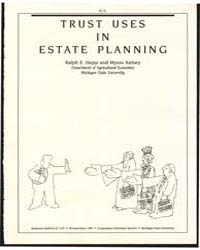 Trust Uses in Estate Planning, Document ... by Ralph E. Hepp