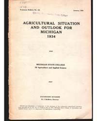 Agricultural Situation, Document E135 by Baldwin, R. J.