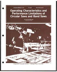 Operating Characteristics and Performanc... by Otto Suchsland