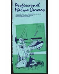 Professional Marine Careers, Document E1... by Michigan State University