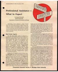 Professional Assistance What to Expect, ... by Margaret Boschetti