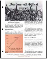 Frankenmuth Wheat, Document E1378-79 by L. O. Copeland