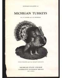Michigan Turkeys, Document E137Rev2Print... by Moore, J., M.