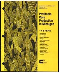 14 Steps to Profitable Corn Production i... by M. H. Erdmann