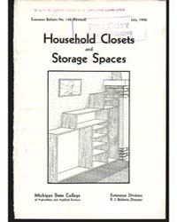 Household Closets and Storage Spaces, Do... by Pond, Julia
