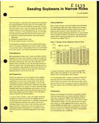 Seeding Soybeans in Narrow Rows, Documen... by E. S. Oplinger