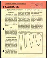 Ommercial Vegetable Recommendations Carr... by Zandstra, Bernard H.
