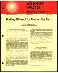 Making Ethanol for Fuel on the Farm, Doc... by Bob Ofoii