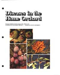 Diseases in the Home Orchard, Document E... by Childress, Adele M.