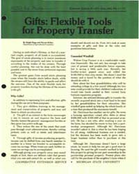 Gifts : Flexible Tools for Property Tran... by Hepp, Ralp.